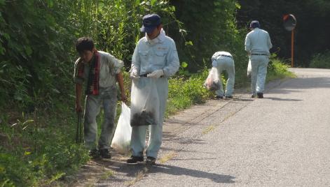 定期的に清掃活動の実施