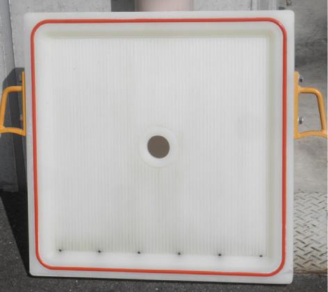 中古24インチフィルタープレス用P板